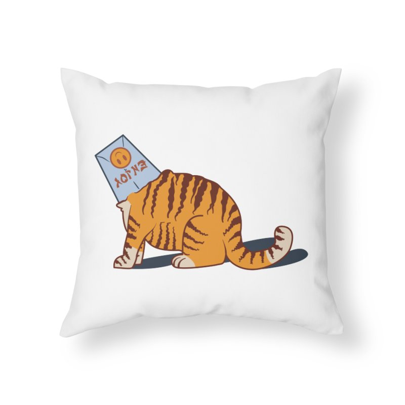 Enjoy Home Throw Pillow by Travis Gore's Shop