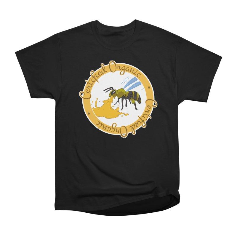 Certified Organic Women's Heavyweight Unisex T-Shirt by Travis Gore's Shop