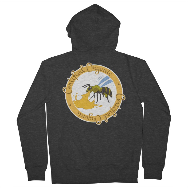 Certified Organic Men's Zip-Up Hoody by Travis Gore's Shop