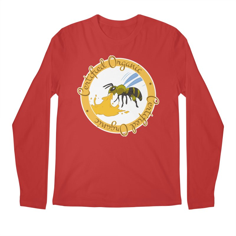 Certified Organic Men's Longsleeve T-Shirt by Travis Gore's Shop