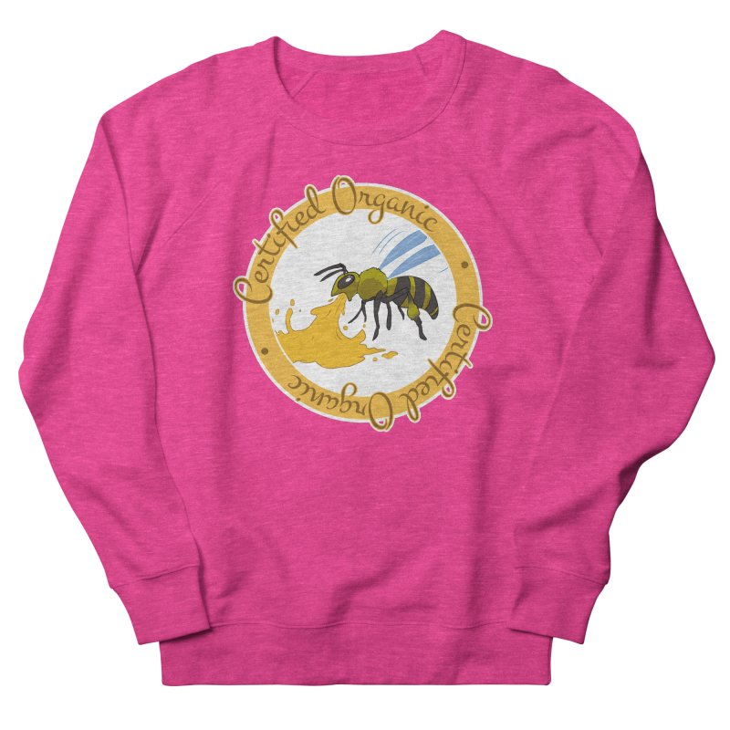 Certified Organic Men's Sweatshirt by Travis Gore's Shop