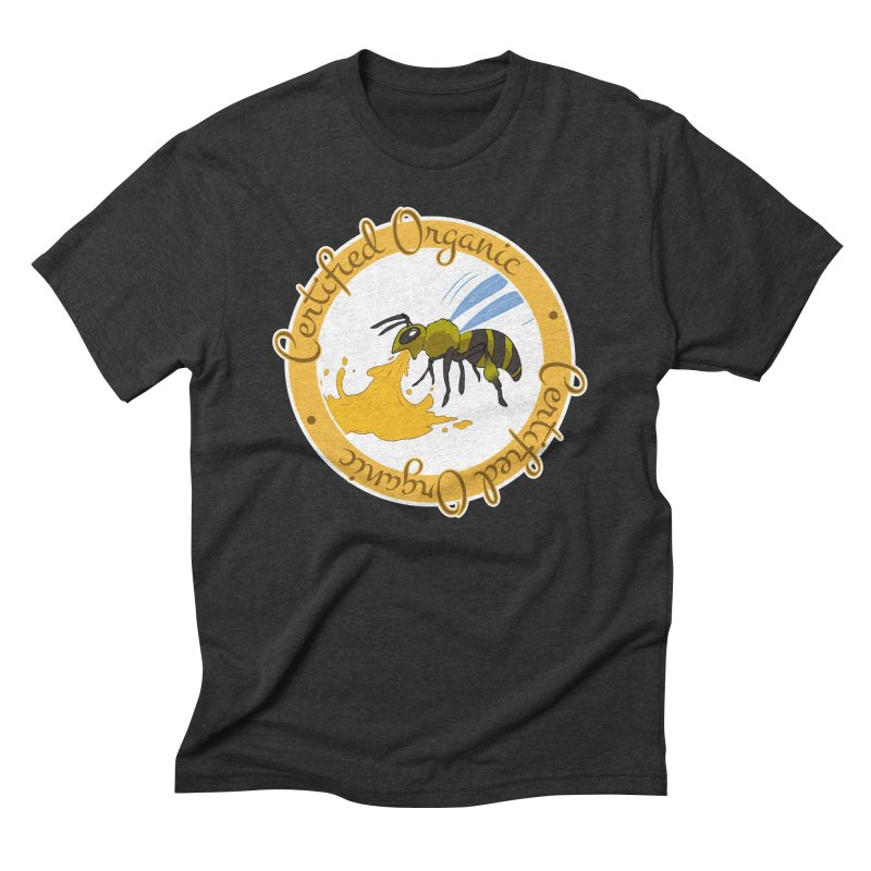 Certified Organic Men's Triblend T-Shirt by Travis Gore's Shop