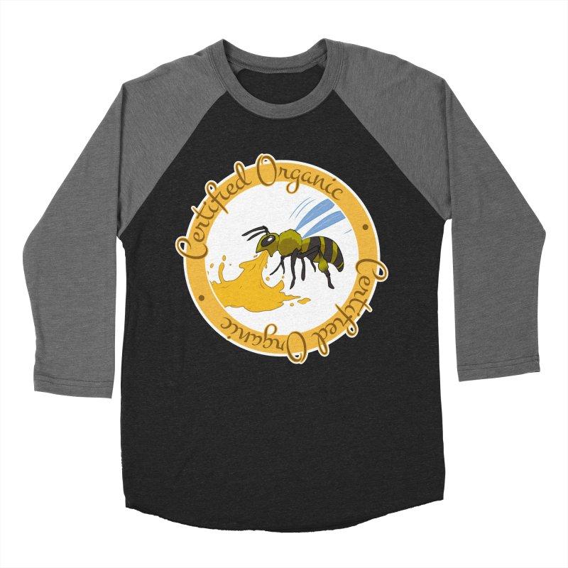 Certified Organic Women's Baseball Triblend T-Shirt by Travis Gore's Shop