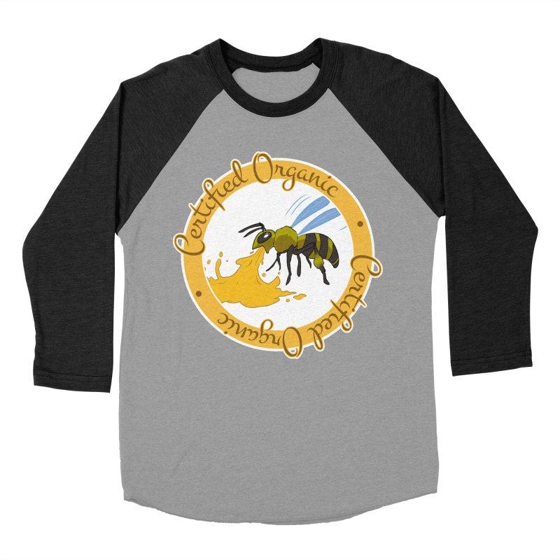 Certified Organic Men's Baseball Triblend T-Shirt by Travis Gore's Shop