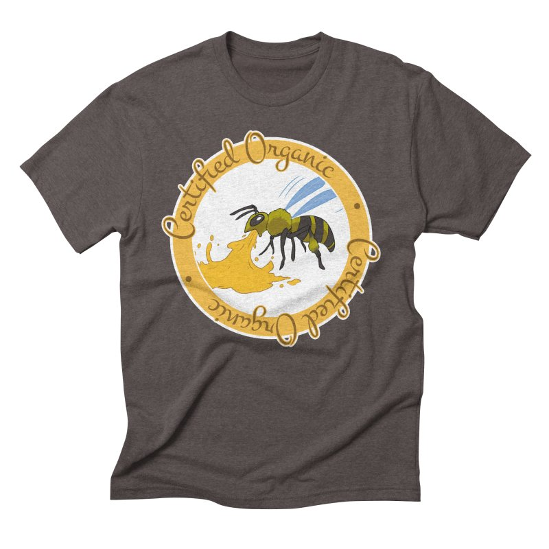Certified Organic Men's Triblend T-shirt by Travis Gore's Shop