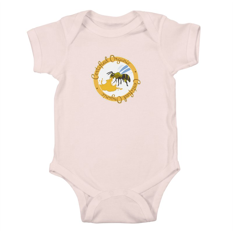 Certified Organic Kids Baby Bodysuit by Travis Gore's Shop