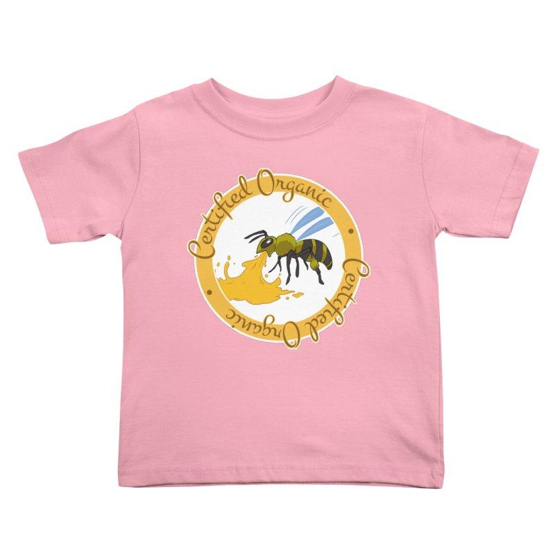 Certified Organic Kids Toddler T-Shirt by Travis Gore's Shop