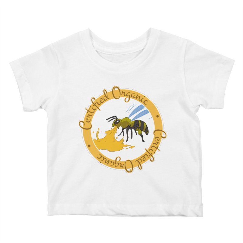 Certified Organic Kids Baby T-Shirt by Travis Gore's Shop
