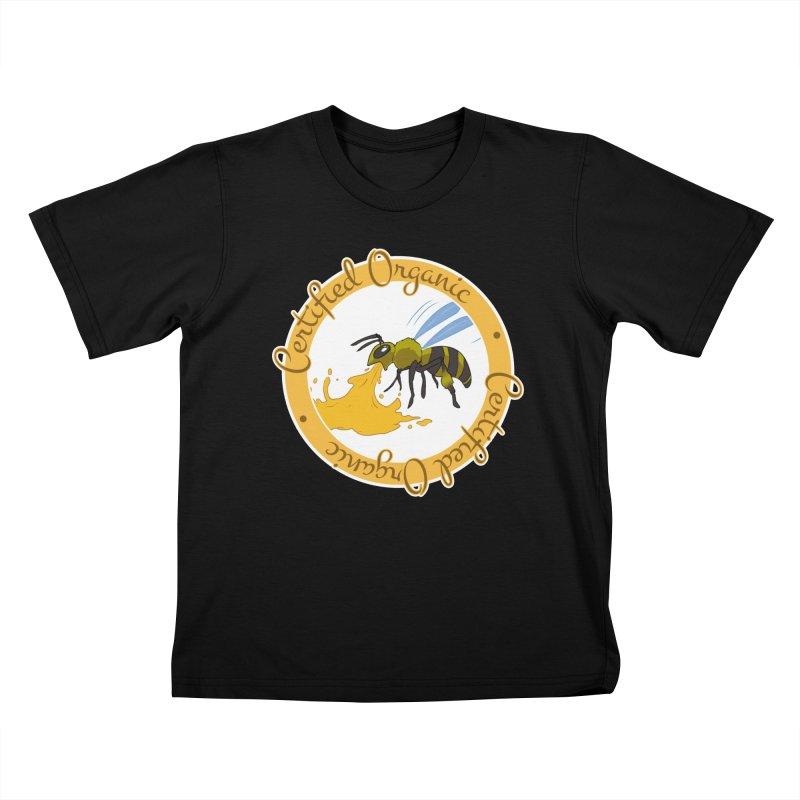 Certified Organic Kids T-Shirt by Travis Gore's Shop