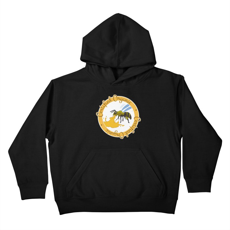 Certified Organic Kids Pullover Hoody by Travis Gore's Shop