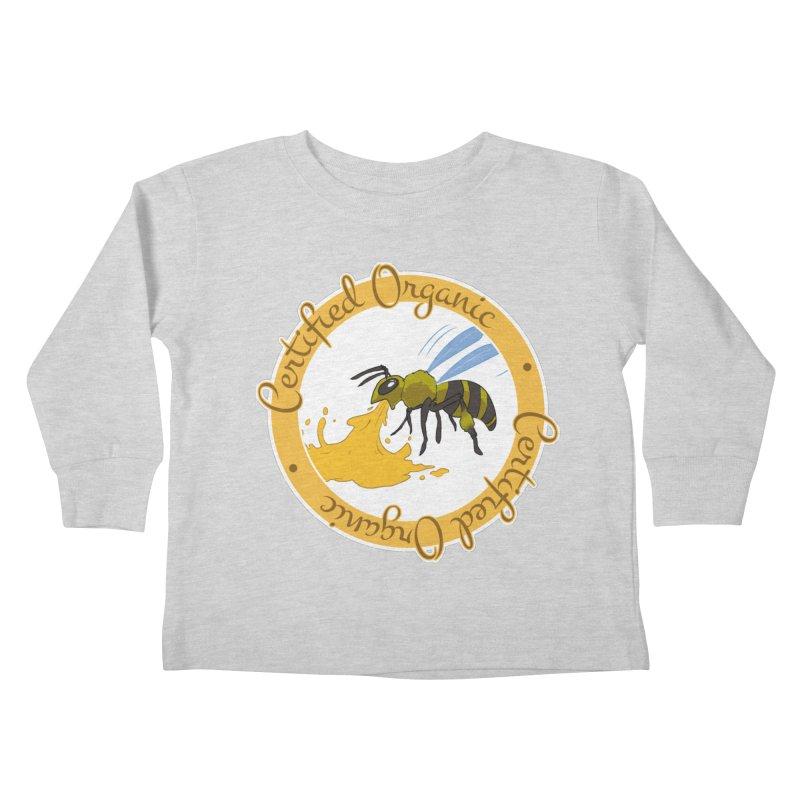 Certified Organic Kids Toddler Longsleeve T-Shirt by Travis Gore's Shop
