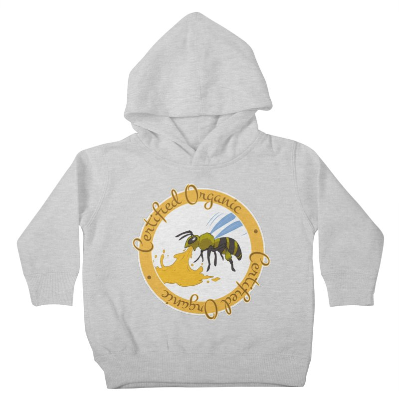 Certified Organic Kids Toddler Pullover Hoody by Travis Gore's Shop