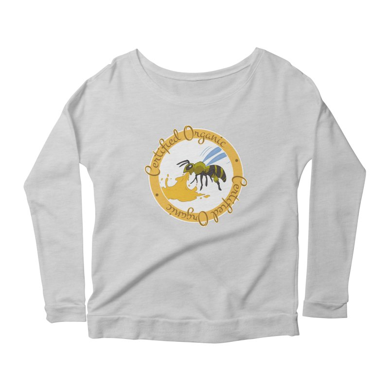 Certified Organic Women's Longsleeve Scoopneck  by Travis Gore's Shop