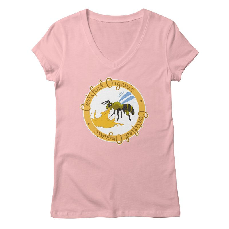 Certified Organic Women's V-Neck by Travis Gore's Shop