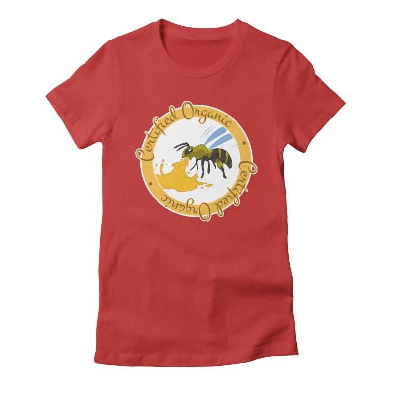 Certified Organic Women's Fitted T-Shirt by Travis Gore's Shop