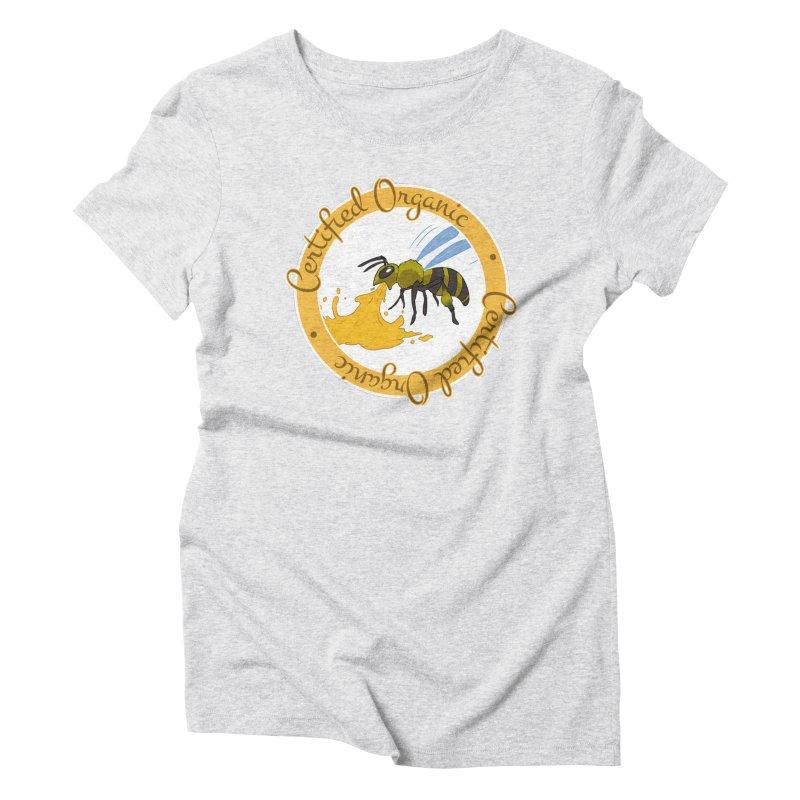 Certified Organic Women's Triblend T-Shirt by Travis Gore's Shop