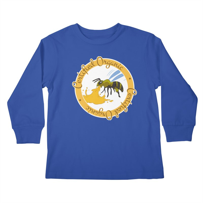 Certified Organic Kids Longsleeve T-Shirt by Travis Gore's Shop