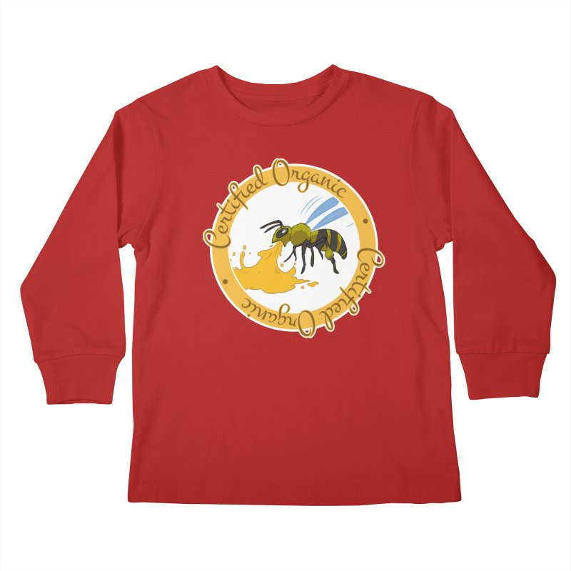 Certified Organic Kids Longsleeve T-Shirt by Travis Gore's Shop