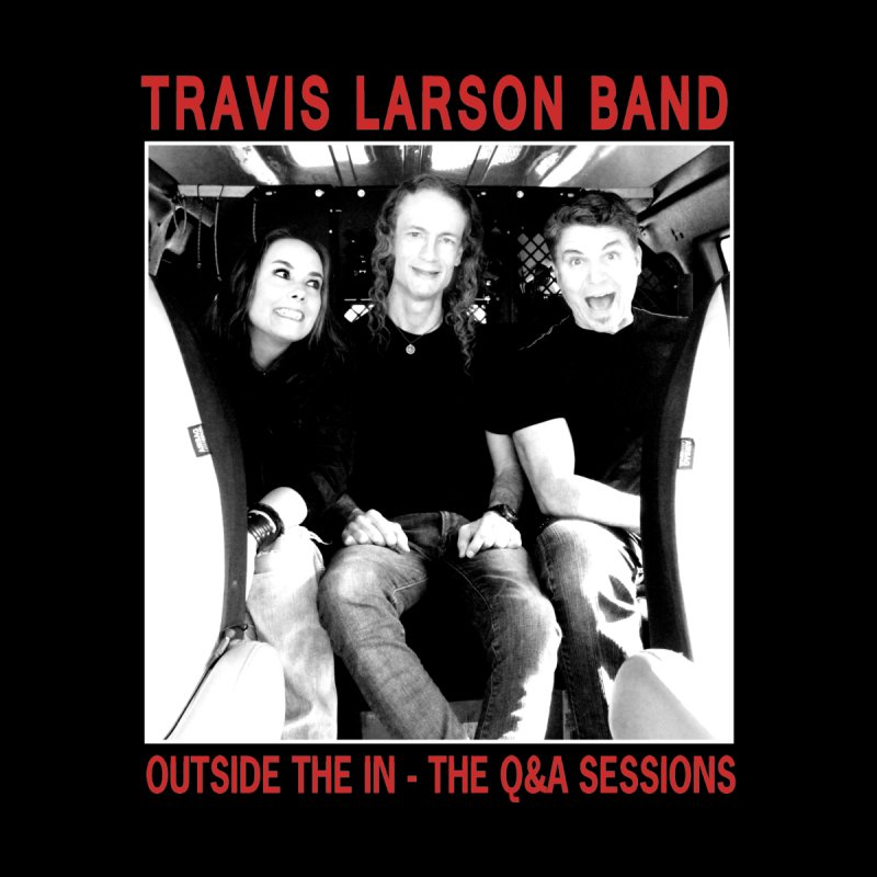 Travis Larson Band - Outside the In - The Q&A Sessions Men's Pullover Hoody by
