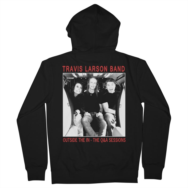 Travis Larson Band - Outside the In - The Q&A Sessions Women's Zip-Up Hoody by
