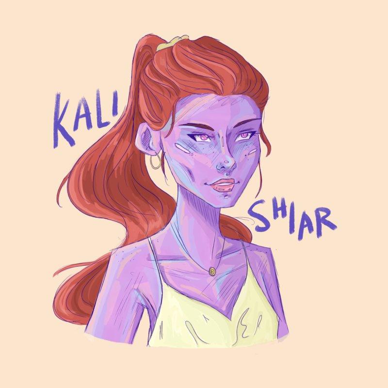 Kali Shiar Sticker/Button/Mug by Travis M. Riddle