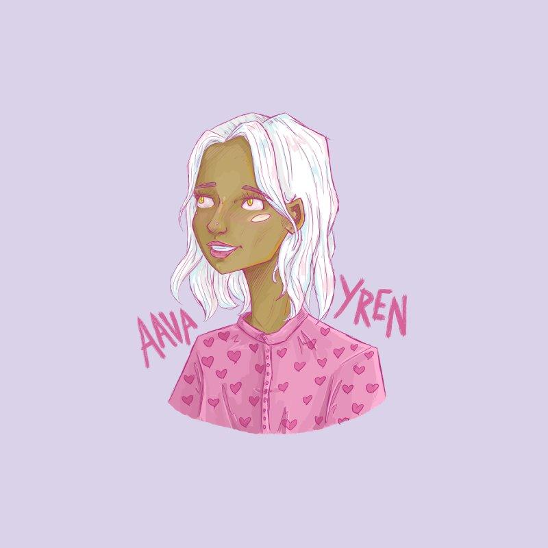 Aava Yren Sticker/Button/Mug by Travis M. Riddle