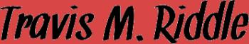 Travis M. Riddle Logo