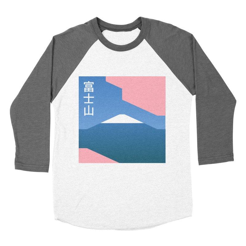 Fuji Mood Women's Baseball Triblend Longsleeve T-Shirt by TravisPixels's Artist Shop