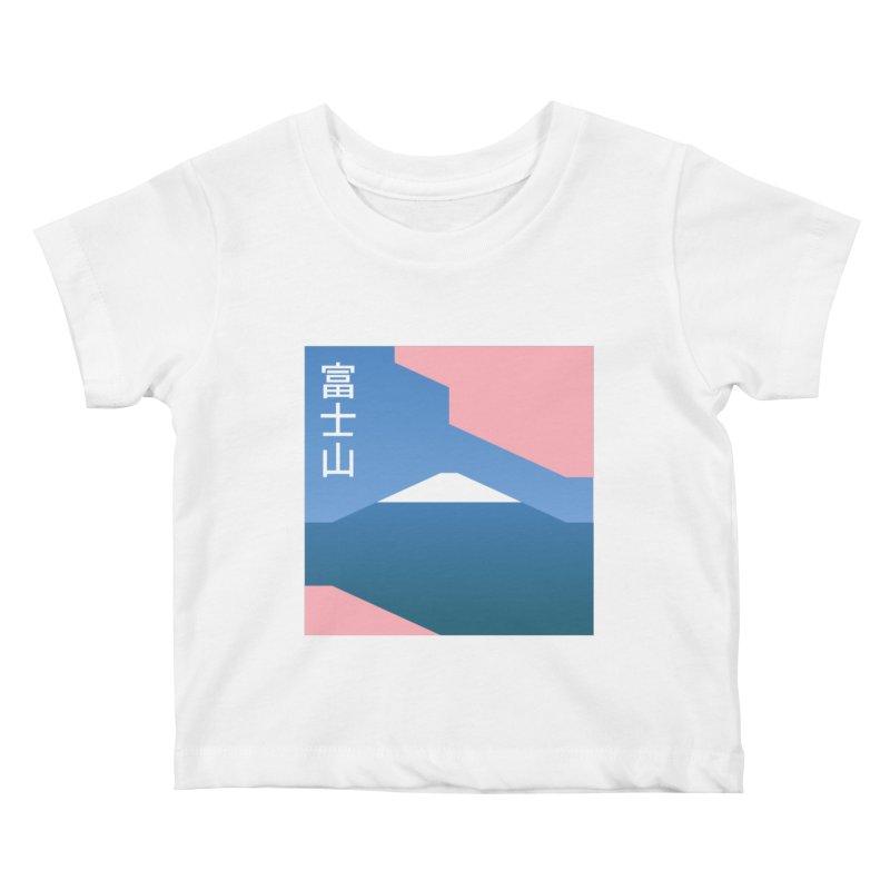 Fuji Mood Kids Baby T-Shirt by TravisPixels's Artist Shop