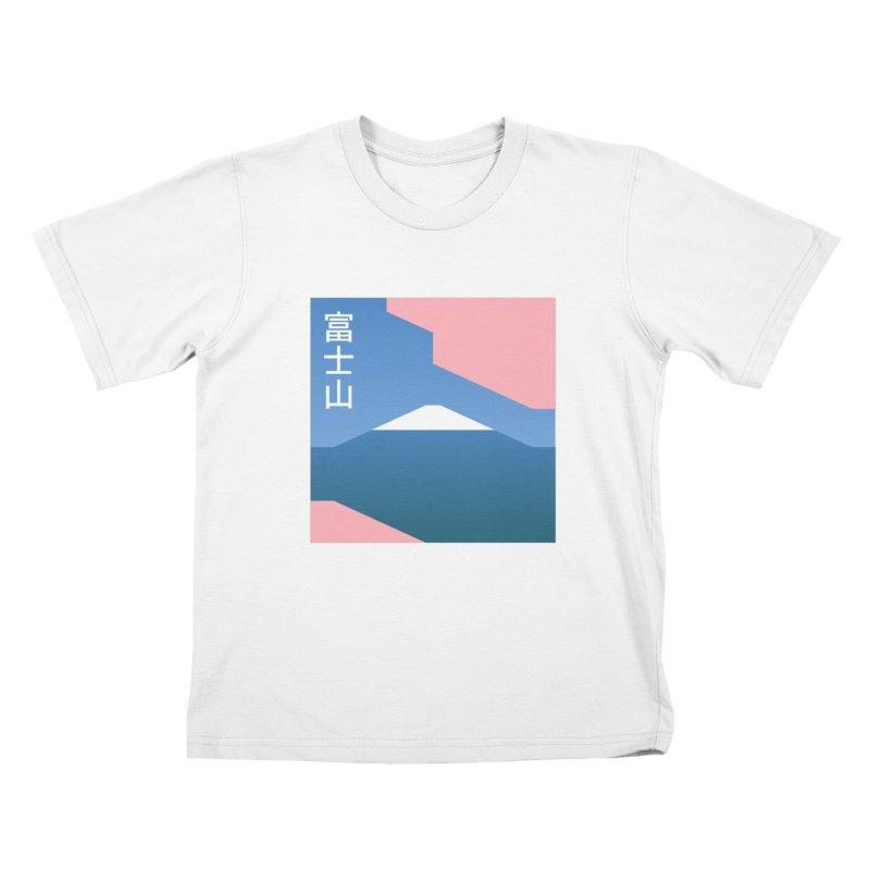 Fuji Mood Kids Toddler T-Shirt by TravisPixels's Artist Shop