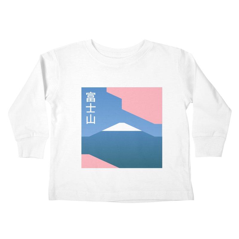 Fuji Mood Kids Toddler Longsleeve T-Shirt by TravisPixels's Artist Shop