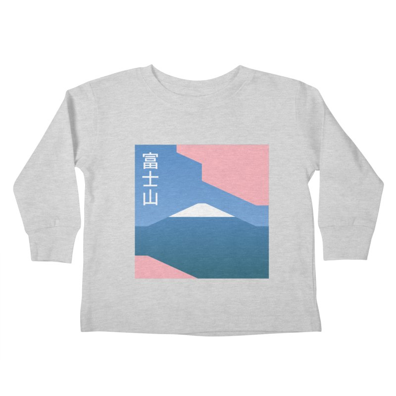 Fuji Mood Kids Toddler Longsleeve T-Shirt by TravisPixels's Artist Shop