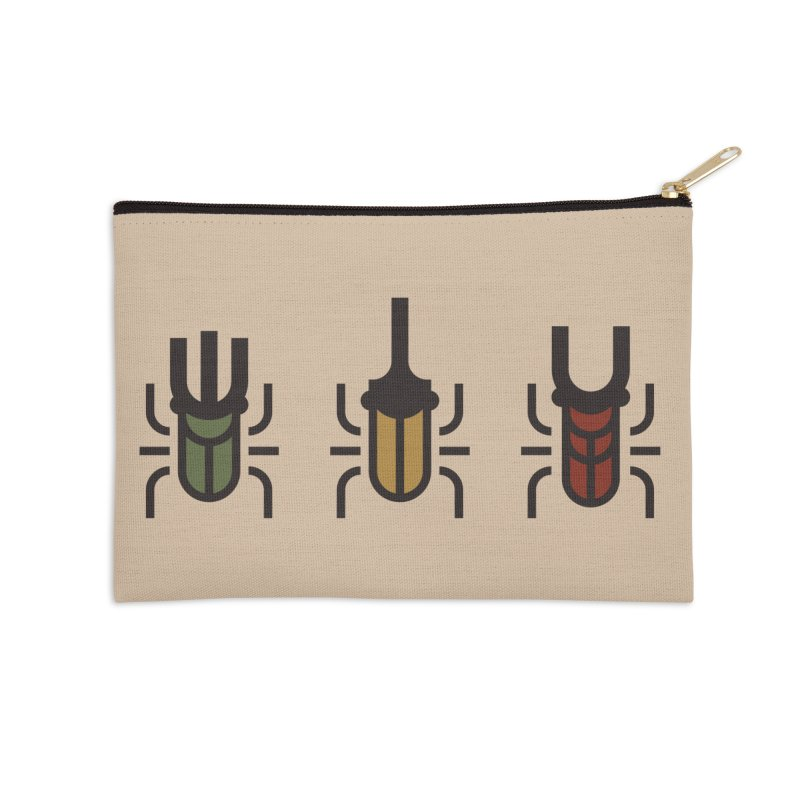 Beetles Accessories Zip Pouch by TravisPixels's Artist Shop