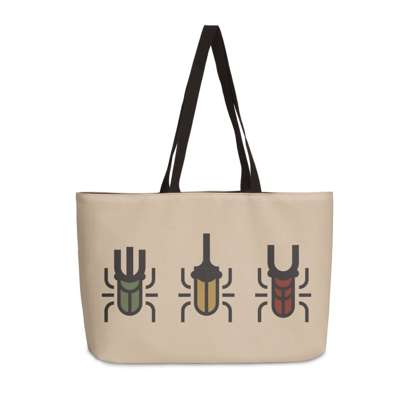 Beetles Accessories Weekender Bag Bag by TravisPixels's Artist Shop