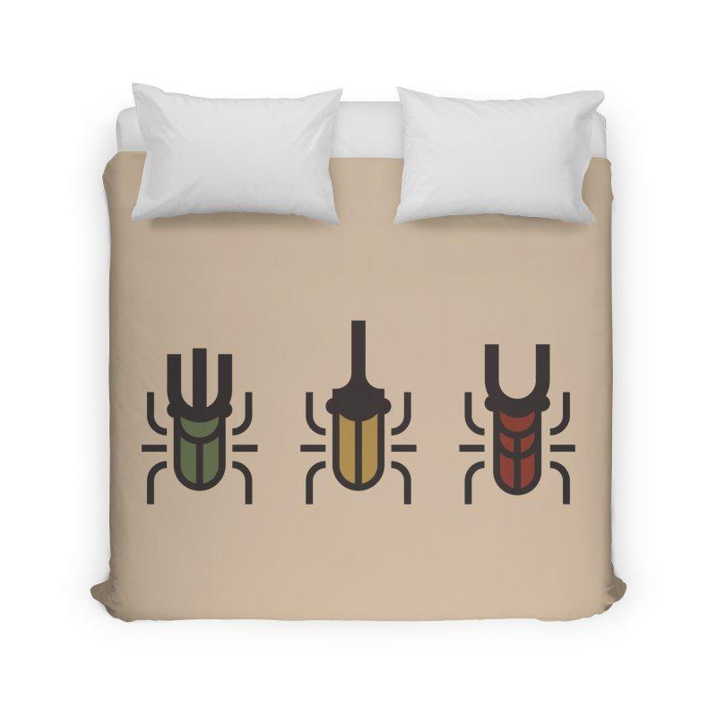 Beetles Home Duvet by TravisPixels's Artist Shop