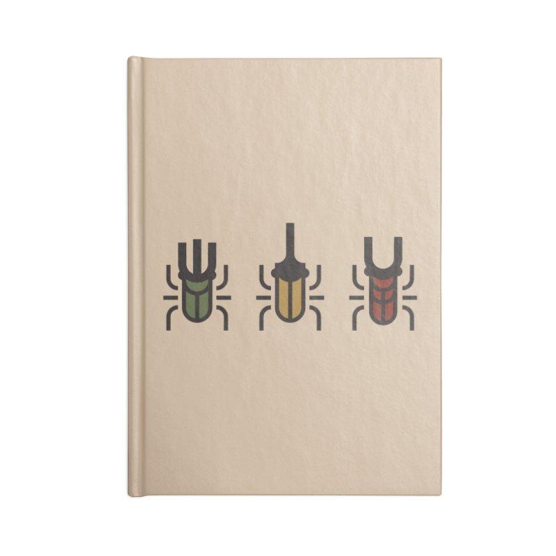 Beetles Accessories Notebook by TravisPixels's Artist Shop