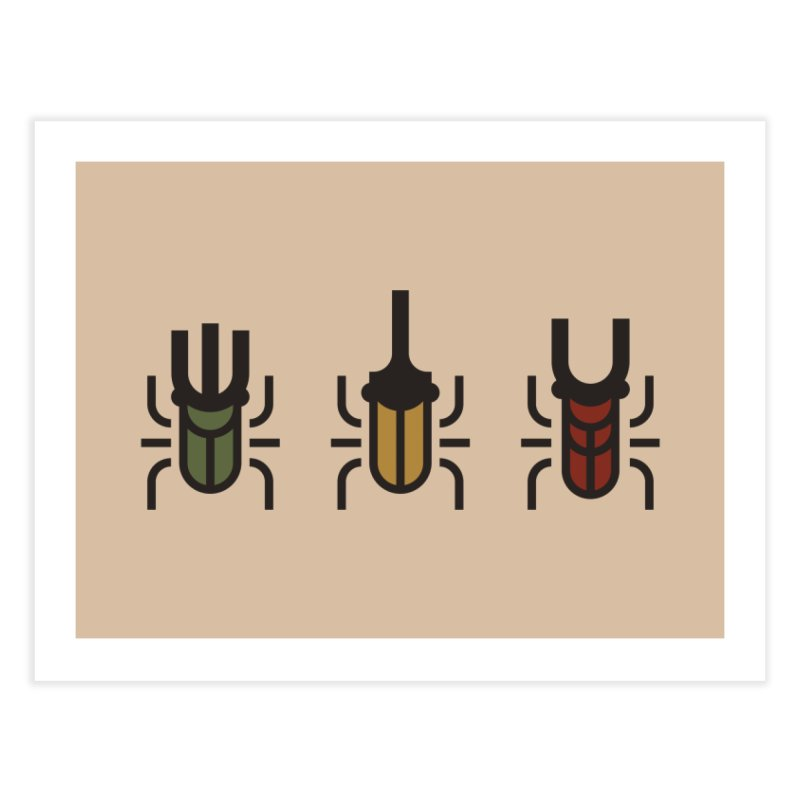 Beetles Home Fine Art Print by TravisPixels's Artist Shop