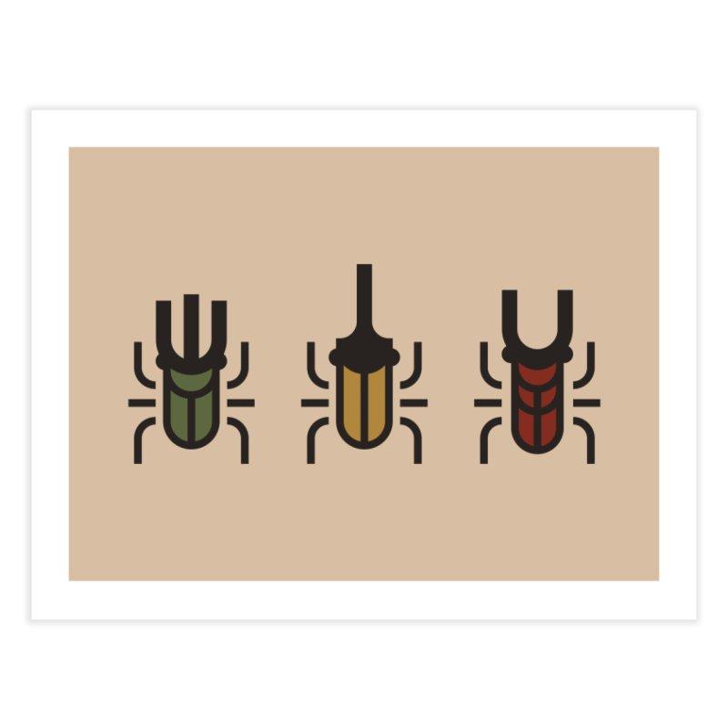 Beetles Home Fine Art Print by TravisPixels's Artist Shop