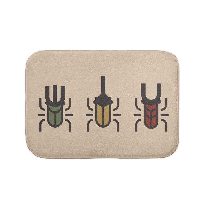 Beetles Home Bath Mat by TravisPixels's Artist Shop