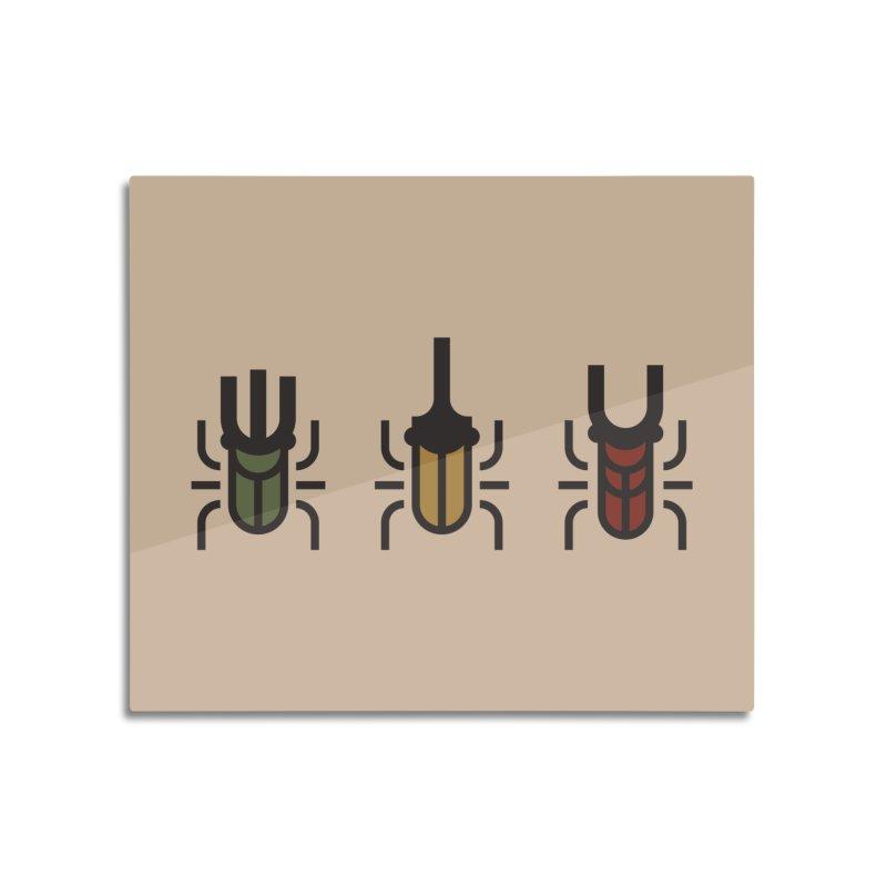 Beetles Home Mounted Acrylic Print by TravisPixels's Artist Shop