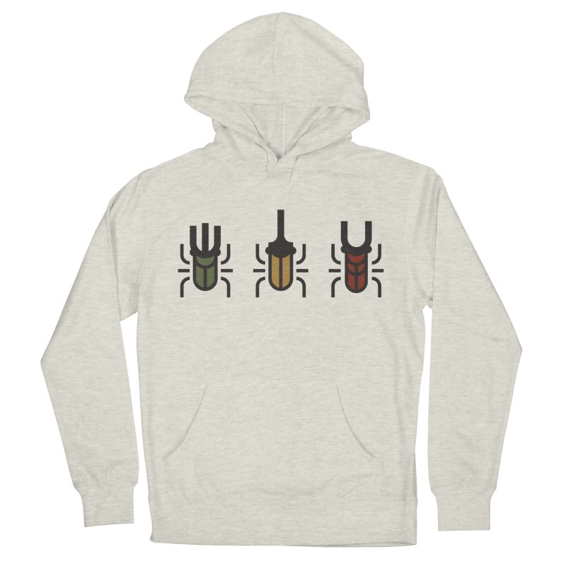Beetles Women's French Terry Pullover Hoody by TravisPixels's Artist Shop
