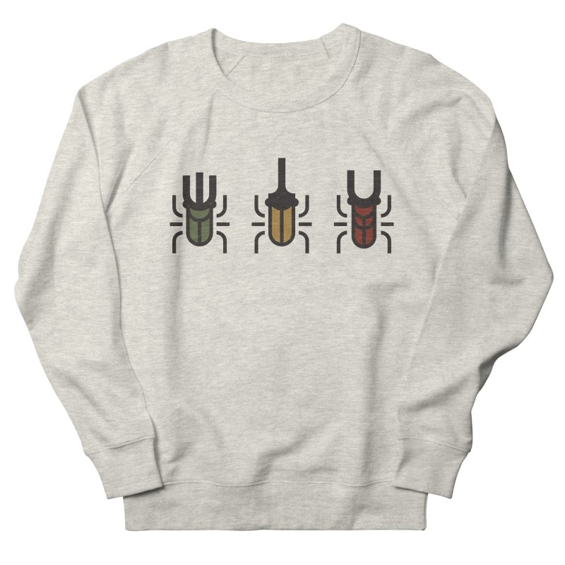 Beetles Men's French Terry Sweatshirt by TravisPixels's Artist Shop
