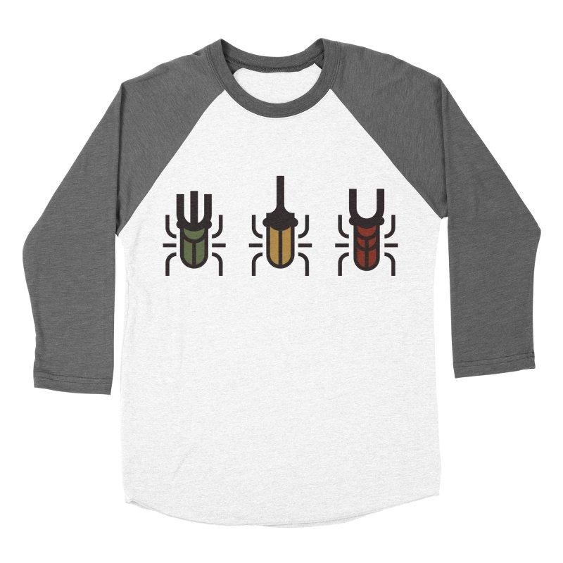 Beetles Women's Baseball Triblend Longsleeve T-Shirt by TravisPixels's Artist Shop
