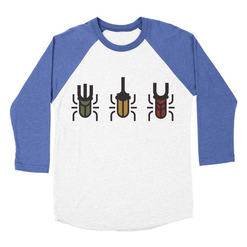 Beetles Men's Baseball Triblend Longsleeve T-Shirt by TravisPixels's Artist Shop