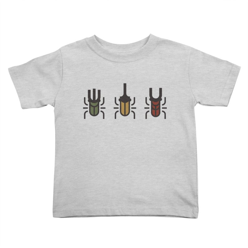 Beetles Kids Toddler T-Shirt by TravisPixels's Artist Shop