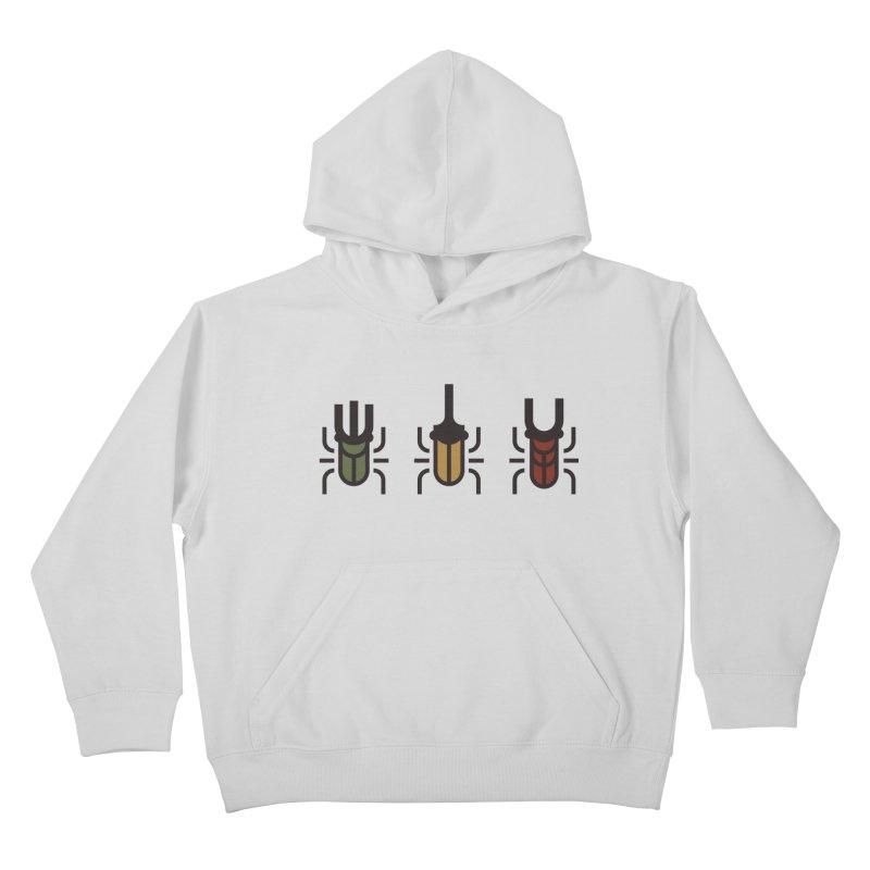 Beetles Kids Pullover Hoody by TravisPixels's Artist Shop