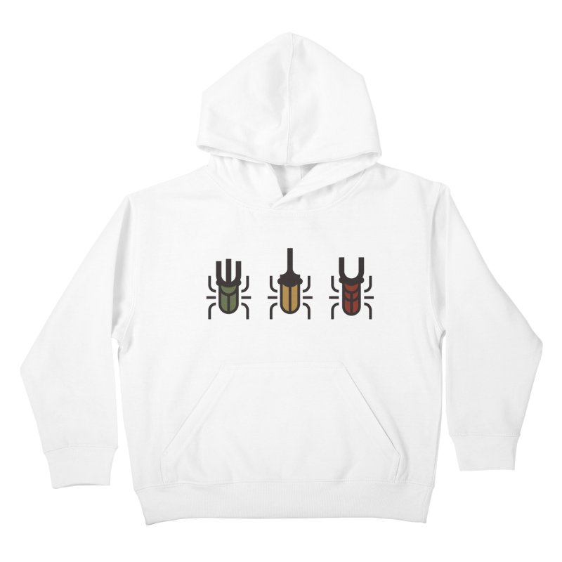 Beetles Kids Pullover Hoody by TravisPixels's Artist Shop