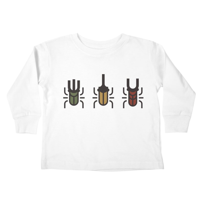 Beetles Kids Toddler Longsleeve T-Shirt by TravisPixels's Artist Shop