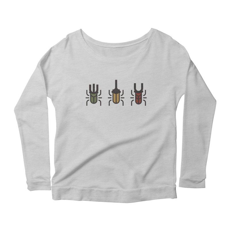 Beetles Women's Scoop Neck Longsleeve T-Shirt by TravisPixels's Artist Shop
