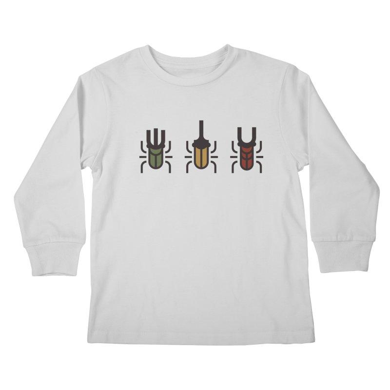Beetles Kids Longsleeve T-Shirt by TravisPixels's Artist Shop